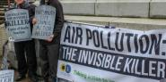 Keith Taylor MEP has been a long-time campaigner for air pollution action - he is pictured above at an air quality demo in Portsmouth earlier this year.