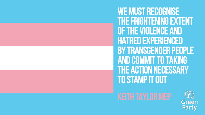Keith calls for action to stamp out trans hate