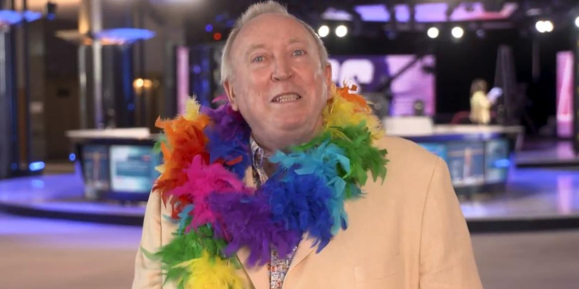 Keith Taylor MEP dons rainbow flag colours for Brighton Pride message of love and support