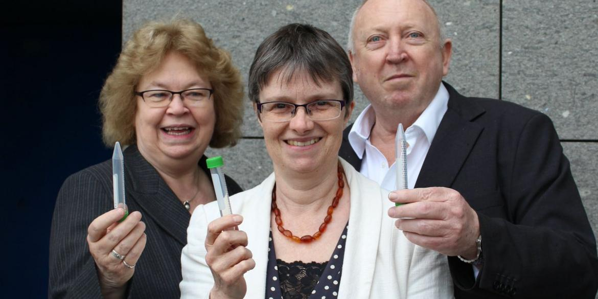 Green MEPs Jean Lambert, Molly Scott Cato, and Keith Taylor prepare to take a urine test which will reveal the worrying amount of glyphosate in their bodies