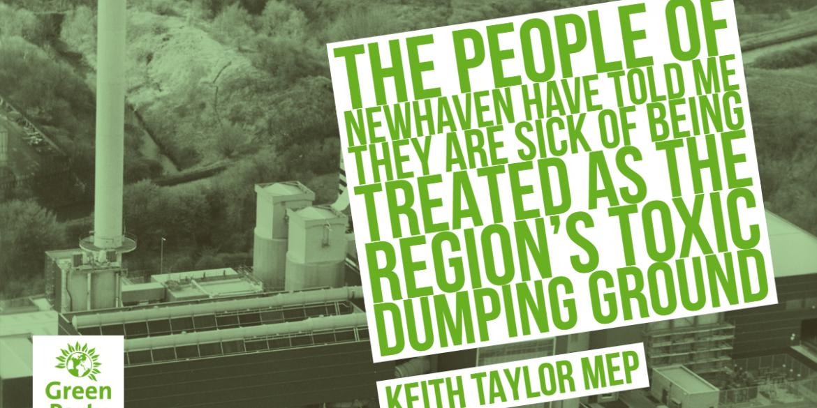 Residents are worried Newhaven is being used as a toxic dumping ground