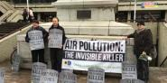 Keith Taylor MEP joins air quality campaigners in Portsmouth