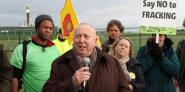 Keith Taylor MEP joins anti-fracking campaigners in Lancashire