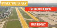 Gatwick Airport's Emergency Runway
