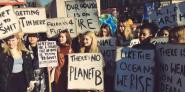 Schoolchildren have gone on strike to protest against climate inaction
